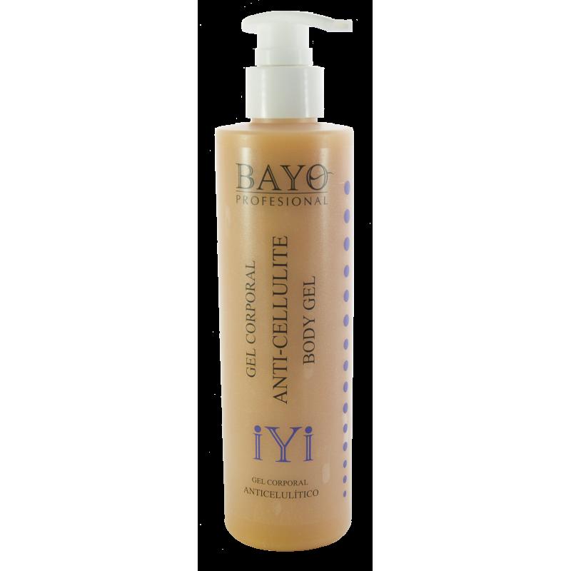 iYi Body Cream Anti-cellulite with Forskolin 200ml. BAYO profesional. Crema anticelulítica.